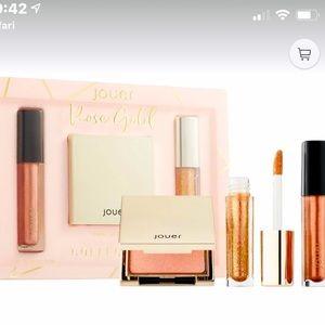New!  Jouer Rose Gold lips & highlighter set
